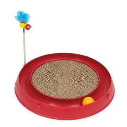 Catit - Catit Play Circ Ball W Scratch Pad Kedi Tırmalaması