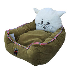 Crop Pet - Crop Pet Kedi Kafalı Yatak