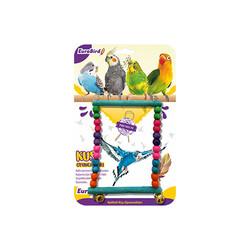 Eurobrid - EuroBird Kuş Oyuncağı Dikdörten Salıncak