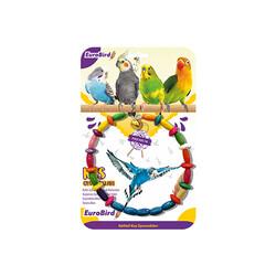 Eurobrid - EuroBird Kuş Oyuncağı Renkli Daire Salıncak