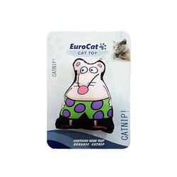Eurocat - EuroCat Kedi Oyuncağı Süper Fare Beyaz