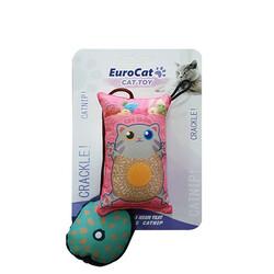 Eurocat - EuroCat Kedi Oyuncağı Yastık Kedi Ufak Yastık