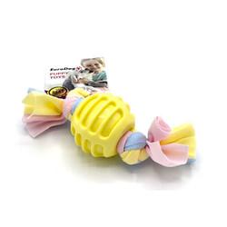 Eurodog - EuroDog Puppy Toys Sarı Ufak Top Diş Kaşıma Oyuncağı