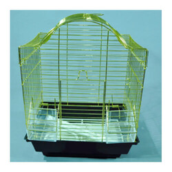 Eurogold - Eurogold Pirinç Telli Üçgen Çatılı Kuş Kafesi