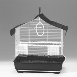 Eurogold - EuroGold Üçgen Çatılı Kuş Kafesi