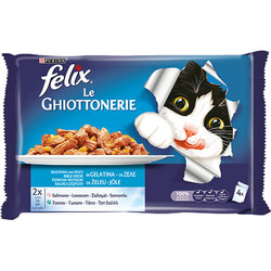 Felix / Purina - Felix Ton Ve Morina Balıklı Yetişkin Kedi Konservesi Pouch