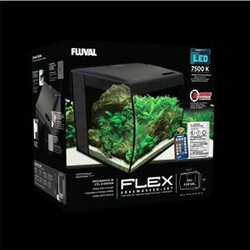 Fluval - Fluval Flex Akvaryum 57 Lt 41x39x39 Cm