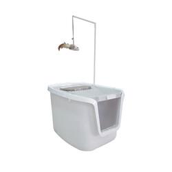 Eurogold - Sunsun 3 in 1 Cat Toilet Kapalı Kedi Tuvaleti